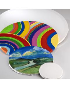 Specialist Crafts Student Stretched Round Canvas