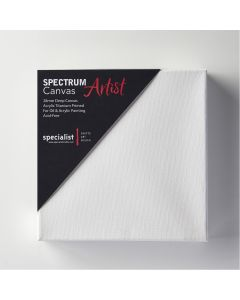 Square Tuck & Roll Stretched Canvas