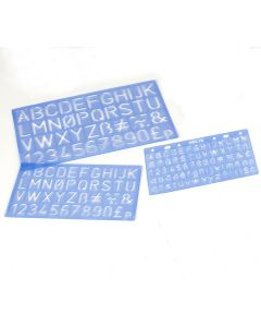Letters & Numbers Stencils Kit
