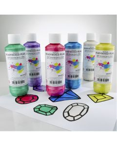Specialist Crafts Premium Readymixed 250ml Pearl Set