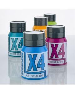 X4 Standard Acryl Acrylic Colours