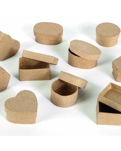 Mini Papier Mache Boxes Pack