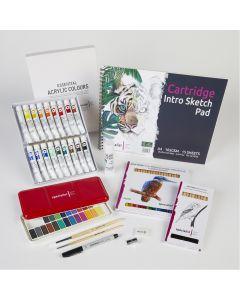 Art Lesson STUDENT Packs