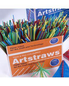 Coloured Artstraws Pack